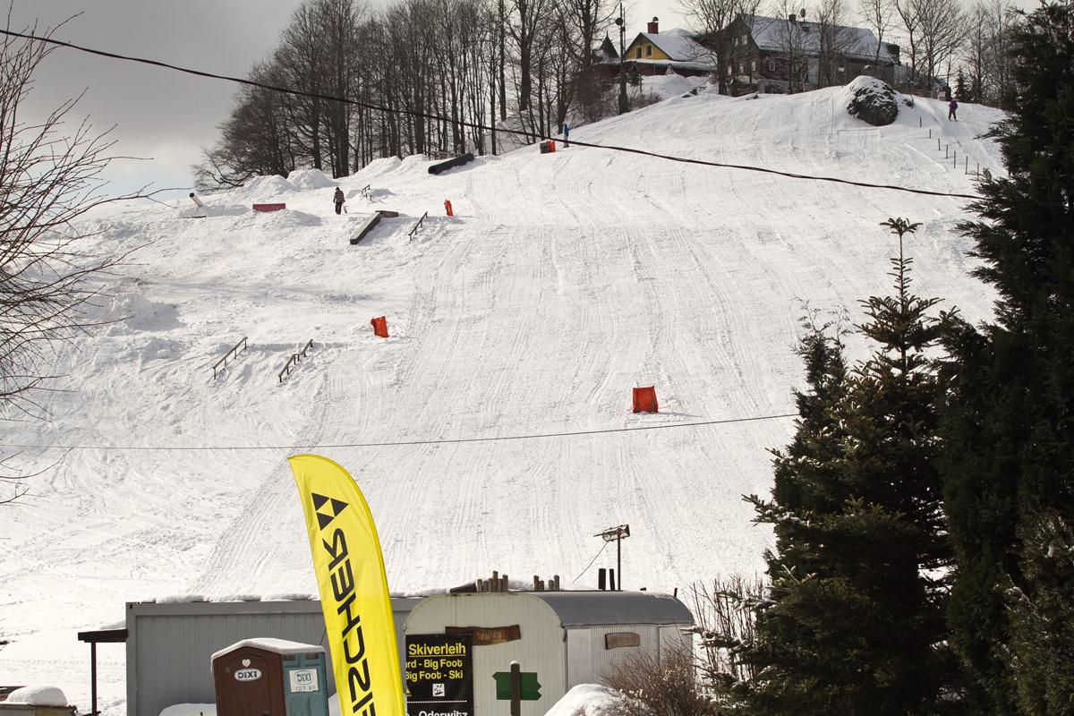 Shredniks Snowpark Hain